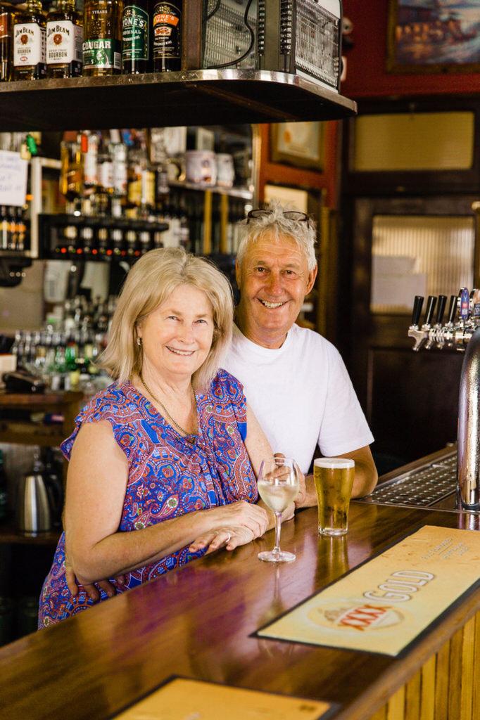 Bruce & Eileen Clark, Bank Hotel Dungog